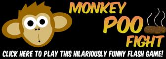 play flash game monkey poo fight